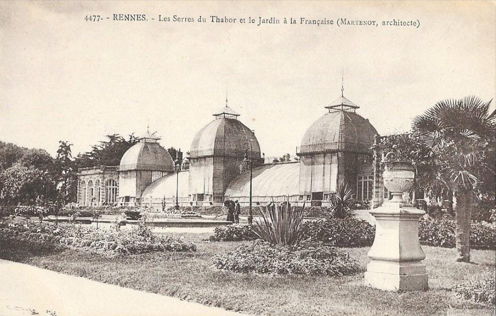Rennes les serres du Thabor Jean-Baptiste Martenot
